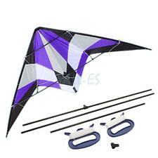 "84"" Sport Stunt Kite Dual-Line X-LARGE 7 FT WING SPAN Prism Delta Outdoor Flying"