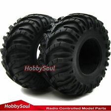 2pcs New RC Rock Crawler 2.2'' Tires Tyres W/ Foam For Beadlock 2.2'' Rims Wheel