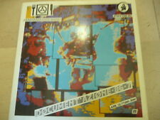 "BANDA MAGNETICA""DOCUMENT'AZIONE-disco 33 giri ATTACK 1987 RED VINIL/PUNK Italy"""