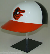 BALTIMORE ORIOLES White No Ear Covered Full Size Catchers / Coaches Helmet
