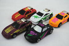 5x Special TOYWAY Viper, Ferrari, Porsche Finger START Racing Cars Made in China