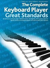 The Complete Keyboard Player Great Standards Sheet Music For All Elect 014043463