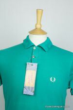 FRED PERRY SPORT MENS POLO SHIRT MEDIUM SLIM INDIE MOD COVENT GARDEN VINTAGE 60S