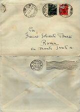 RE DI MAGGIO-1L(551)+3L(553)DEMOCRATICA-Busta URBINO 47-96- Roma 20.5.1946