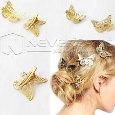 Damen Schmetterling Haarclip Haarspange Haarklammer Haarschmuck Schmuck