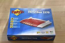 AVM FRITZBox 3370 450 Mbps 4-Port Gigabit Verkabelt Router (20002478)