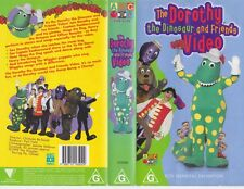 THE WIGGLES THE DOROTHY THE DINOSAUR AND FRIENDS  VHS VIDEO PAL~ A RARE FIND~