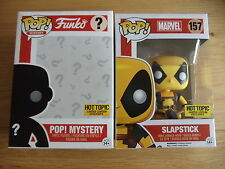 FUNKO POP SLAPSTICK HOT TOPIC EXCLUSIVE MYSTERY BOX (DEADPOOL, MERCS FOR HIRE)