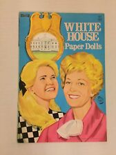 VINTAGE Paper Doll - White House - Saalfield