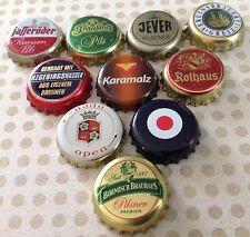 10x verschiedene Kronkorken aus Deutschland - Crown/Bottle caps - No.15