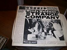 WENDY WALMAN:STRANGE COMPANY-LP-NM-WB-INNER ORIGINAL PICTURE/LYRICS SLEEVE