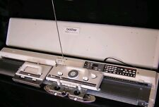 Brother electronic knitting machine kh 965 electroknit serviced prestine white