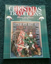 CHRISTMAS TRADITIONS From The Heart Vol. 2 BOOK - 14 PROJECTS! Margaret Peters