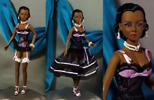 RARE! DAE ORIGINALS VIVETTE SUGARED PLUM AFRICAN AMERICAN DOLL  Limited.ED. 100