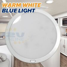 "LED 8.5"" Switched Panel Ceiling Light RV Trailer Coach Boat Indoor Cabin Kitchen"