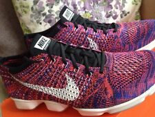 NEW Ladies Purple NIKE Flyknit Zoom Fit Agility UK size 3.5 Red And Blue