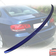 BMW M3 E92 3-Series 2007 2013 Trunk Spoiler Wing Painted A51 Blue §