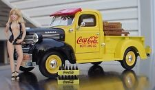 Danbury Mint Soda Cargo W Ertl 1947 Coca Cola Dodge Pick Up Truck in 1/24 Scale