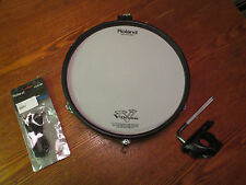 "Roland PD-125 BK 12"" Mesh Head V Drum PD125 - BLACK - WITH CLAMP AND CABLE"