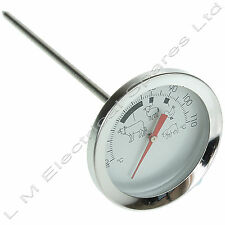 Meat Poultry Food Thermometer BBQ Cooking Probe Stainless Steel Probe