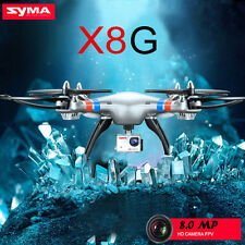 Syma X8G 2.4Ghz 6-Axis Gyro 4CH RC Drone Quadcopter+8MP 1080P HD Camera Silver