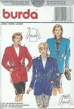 burda 4734 Misses' Jacket 10 to 20    Sewing Pattern
