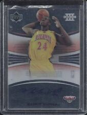 MARVIN WILLIAMS 2005-06 UPPER DECK TRILOGY AUTO FOCUS GLASS ON CARD AUTO RC