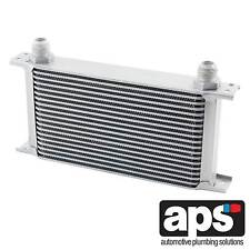 APS Gearbox/Diff/Engine Oil Cooler - 19 Row, 235mm, -12 JIC AN12 Male Fittings