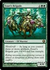 EZURI'S BRIGADE Scars of Mirrodin MTG Green Creature — Elf Warrior RARE