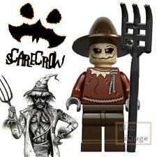 "1pc Scarecrow """"Custom"""" Lego Minifigure Bricks Toy DC Batman Villains #060"