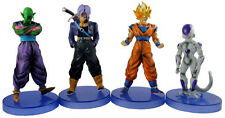 Dragonball Z Dragon Ball DBZ Son Goku Trunks Piccolo Frieza 4 Figurines Lot Set