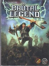 BRUTAL LEGEND by Prima's Official Strategy Video Game Guide - Book - VG