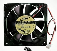 New 120mm 38mm Case Fan 12V 200CFM PC Cooling 3pin Metal 4 Screws Ball 330*