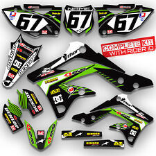 2013 2014 2015 KXF 450 GRAPHICS KIT KAWASAKI KX450F MOTOCROSS BIKE GREY DECALS