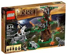 Lego The Hobbit 79002 ATTACK OF THE WARGS Thorin Bifur Yazneg Orc Wolves NISB