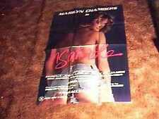 INSATIABLE ORIG MOVIE POSTER MARILYN CHAMBERS