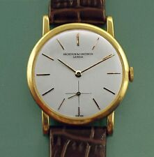 Vintage 50's 18k Yellow Gold Vacheron Constantin cal1001 Ref 4667 Thin Watch