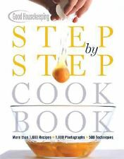 Step by Step Cookbook 1000 Recipes 1800 Illustrations 500 Cooking Techniques NEW