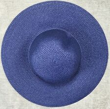 Crewcuts J Crew Blue Girls Floppy Sun Hat Size Small Medium 2-7 Years  LBFO NEW