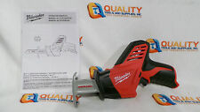 New Milwaukee 2420-20 M12 12V Cordless Li-Ion Reciprocating Saw Hackzall