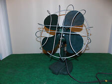 "Vintage F. A. Smith Mfg Co. (Viking) 10"" Oscillating Desk Fan - Near Mint"