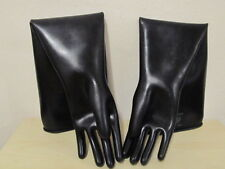 Latex Gloves,Chemiehandschuhe,Gummihandschuhe,Rubber Gloves,Größe L-9,5,-1,1 mm