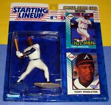 1993 TERRY PENDLETON sole Atlanta Braves - low s/h - Starting Lineup + two cards