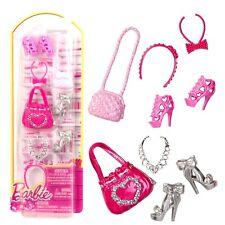 Barbie - Schuhe, Handtaschen, Schmuck - Accessoires Set für Barbie Puppe A