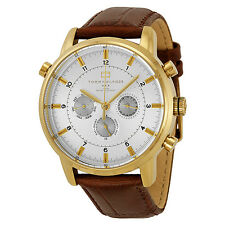 Tommy Hilfiger GMT Gold-plated Stainless Steel Mens Watch 1790874