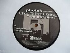 "PHOTEK PRESENTS CHOC TY - WE GOT HEAT 12"" RECORD - 51ST STATE - RIFTEK1201UKR"