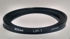 NIKON UR-1 FILTER ADAPTER RING!! 90-DAY WARRANTY!! EXCELLENT PLUS!! 72mm-62mm!!
