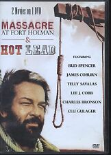 Massacre at Fort Holman / Hot Lead (DVD, 2 Movies on 1 DVD)