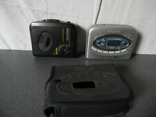 Lot de 2 baladeurs / Walkman K7 Cassette Sony semi HS WM-EX304 et WM-FX477