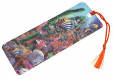 3D Lenticular bookmark - Tropical Fish bookmark Fishing